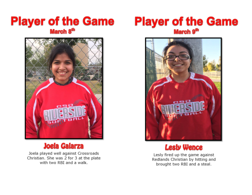 player of the game march 8 and 9